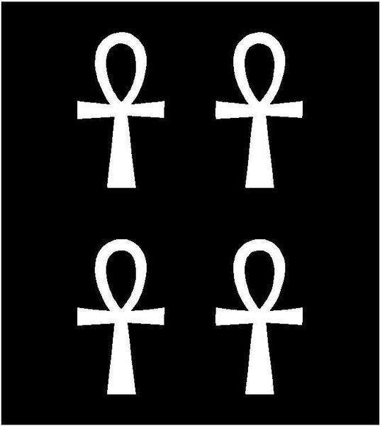 small Ankh Symbol Egyptian Egypt Pagan Vinyl Decals Phone Stickers Sheet