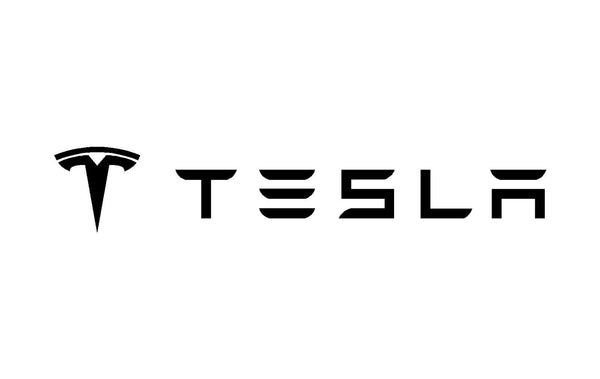 Tesla Logo Vinyl Decal Laptop Mirror Window Sticker