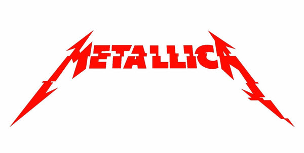 Metallica Hardwired New Album Logo Vinyl Decal Guitar Laptop Car Window Sticker