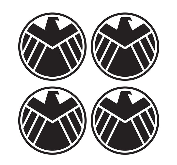 4 Agents Of Shield Marvel 2 Vinyl Decals Phone Laptop Car Window