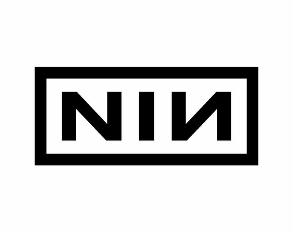 Nine Inch Nails NIN Logo Vinyl Decal Laptop Car Window Speaker Sticker