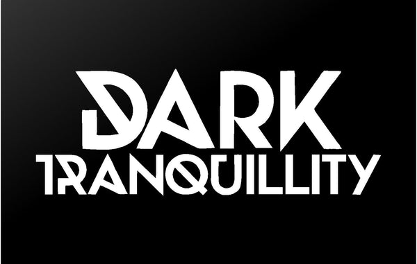 Dark Tranquillity Vinyl Decal Car Window Laptop Death Metal Band Logo Sticker