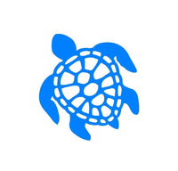 Honu Hawaiian Sea Turtle Vinyl Decal Car Window Laptop Mirror Sticker
