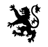 Coat Of Arms Scotland Lion Vinyl Decal  Car Window Laptop Scottish Sticker