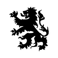 Dutch Republic Lion Vinyl Decal Car Window Netherlands Coat of Arms Sticker