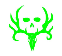 Bone Collector Skull Vinyl Decal Car Truck Window Laptop Hunting Sticker