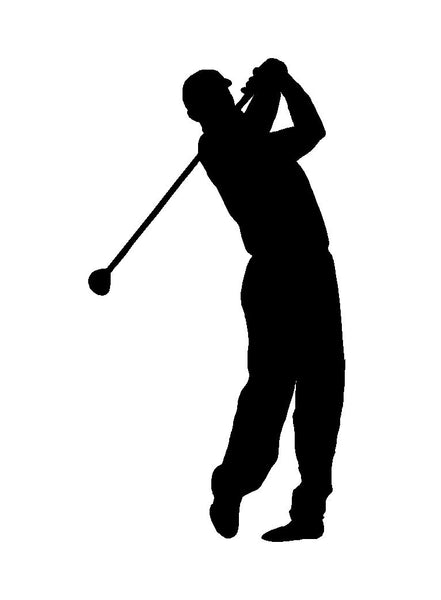 C1019 Funny Golf Decal Sticker For Car Truck Suv Van Golf Cart Driver Putter Bag For Sale Online