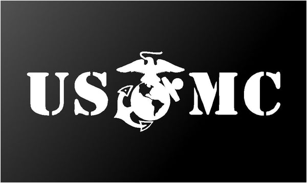 USMC Vinyl Decal Sticker