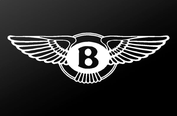 Bentley Motors Emblem Logo Vinyl Decal Car Window Body Laptop Sticker