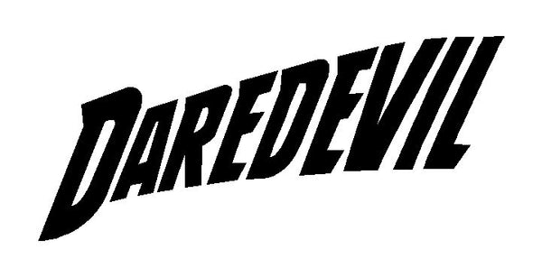 Daredevil Marvel Logo Decal Vinyl Car Window Laptop Sticker