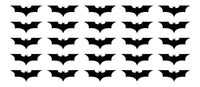 "Dark Knight Batman Symbol Vinyl Decals Phone Laptop Helmet Small 1.5"" Stickers"