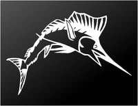 Sailfish Vinyl Decal Car Truck Window Boat Fishing Sticker Large Sizes