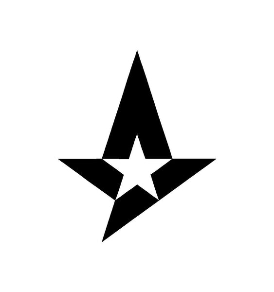 Astralis Team Logo CS Go Vinyl Decal Car Window Laptop Sticker