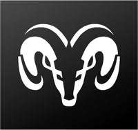 Dodge Ram Head Logo Symbol Vinyl Decal Car Truck Window Body Sticker