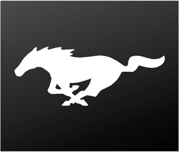 Ford Mustang Vinyl Decal GT Horse Pony Logo Dashboard Laptop Sticker