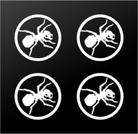 "The Prodigy Techno Ant Logo 4 Vinyl Decals Phone Laptop Speaker 2"" Stickers"