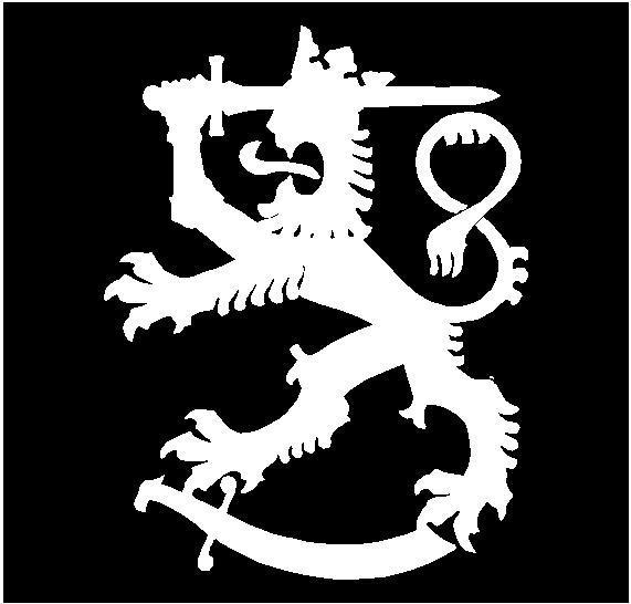 Coat Of Arms Finland Lion Vinyl Decal  Car Window Laptop Finnish Sticker