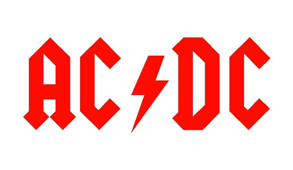 Ac//Dc Sticker Group picture guitar