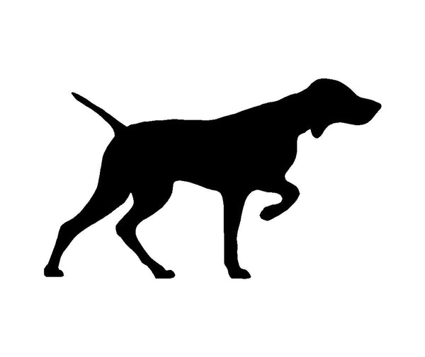 Vizsla Vinyl Decal Hungarian Pointer Car Window Laptop Dog Silhouette Sticker
