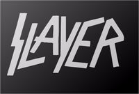 Slayer Thrash Metal Band Vinyl Decal Car Truck Window Guitar Laptop Sticker