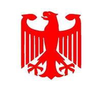 GERMAN Eagle Vinyl Decal Car Window Laptop GERMANY Coat of Arms Sticker
