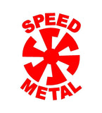 Speed Metal Thrash Heavy Metal Vinyl Decal Car Window Laptop Guitar Sticker