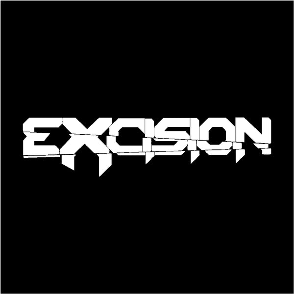Excision Vinyl Decal Car Window Laptop Sticker