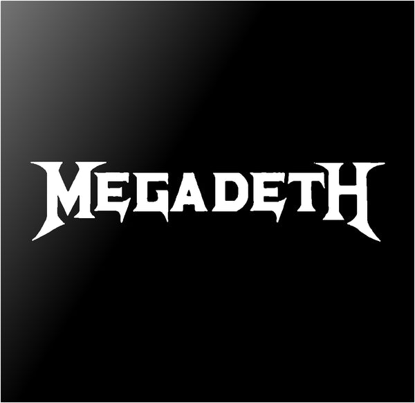 Megadeth Vinyl Decal Sticker