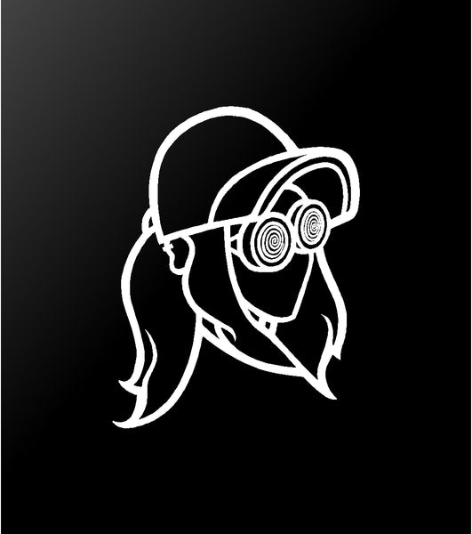 Rezz Vinyl Decal Car Window Laptop Sticker