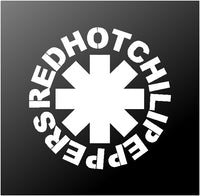 Red Hot Chili Peppers Vinyl Decal Sticker