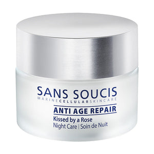 Night Care Moisturiser - Anti-Age Repair - Kissed By A Rose