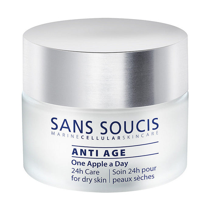 24hr Care Anti-Age Moisturiser For Dry Skin - One Apple A Day