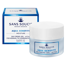 Load image into Gallery viewer, MOISTURE AQUA BENEFITS Moisturising 24hr Creme-Gel