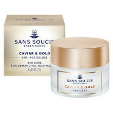 Load image into Gallery viewer, CAVIAR & GOLD Anti Age Deluxe 24hr Care