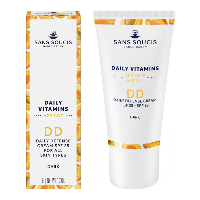 DAILY VITAMINS DD Daily Defense Cream SPF 25 - Dark