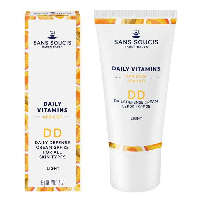 DAILY VITAMINS DD Daily Defense Cream SPF 25 - Light