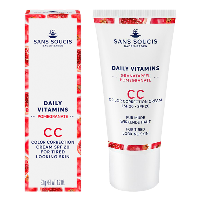 DAILY VITAMINS CC Colour Correction Cream SPF20 For Tired Looking Skin