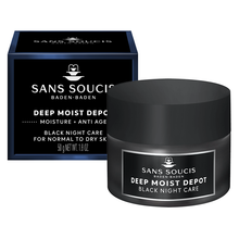 Load image into Gallery viewer, DEEP MOIST DEPOT Anti Age Black Night Care For Dry Skin