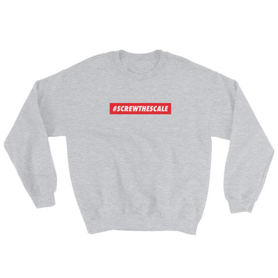 Crewneck Sweatshirt - #ScrewTheScale