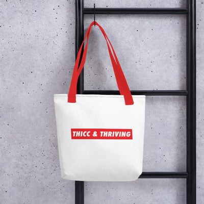 Tote bag - THICC & THRIVING