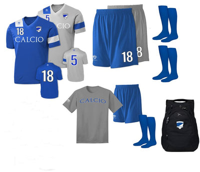 Player Uniform Kit With Backpack