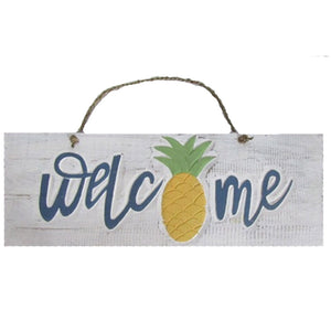 Pineapple Welcome Sign 20""