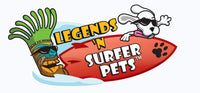 Surfer Dudes Legends & Surfer Pets -  Mako P.I. and G.