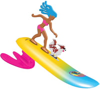 Surfer Dudes Legends & Surfer Pets -  Surf City Sally and Malibu