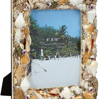 "Photo Frame - Natural Shell 8""x10"""
