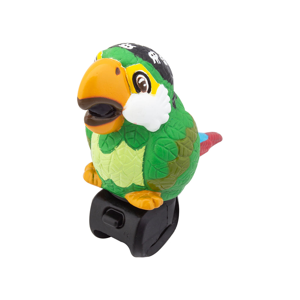 Squeeze Horn - Bike Accessory - Pirate Parrot