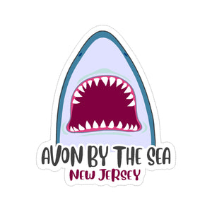 Sticker - Avon by the Sea- Jaws