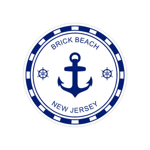 Sticker - Brick Beach - Blue Anchor