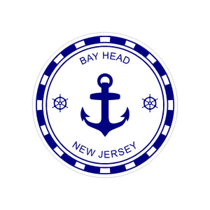 Sticker - Bay Head - Blue Anchor
