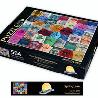 Spring Lake Beach Badge Puzzle ***Pre-order for April Shipping date***